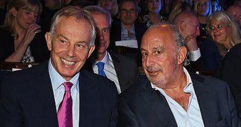 Tony Blair and Philip Green