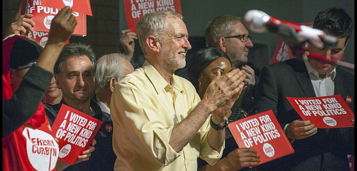 Jeremy Corbyn a new kind of politics
