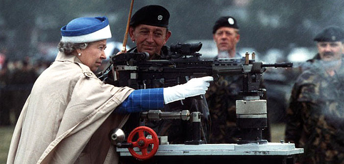 God save the Queen and her family as they lubricate