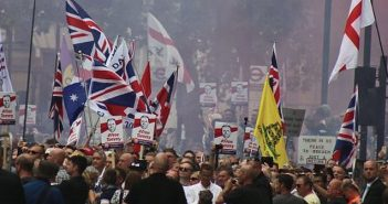 Far right march