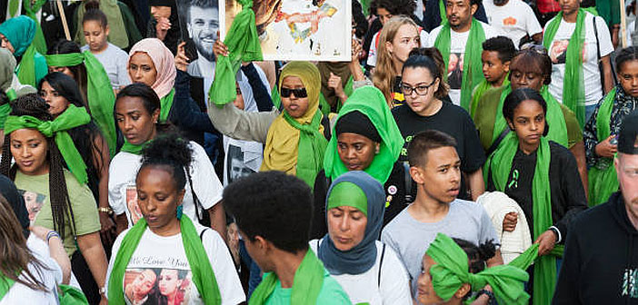 What, you thought we just forgot about Grenfell, that the anger has gone away?