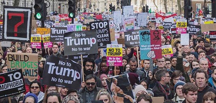 Stop Trump demo