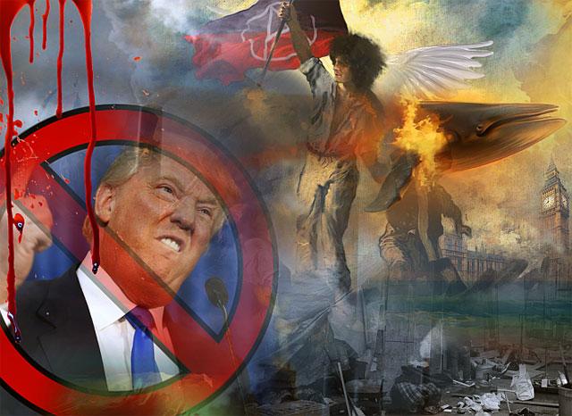 Heathcote Williams Stop Trump