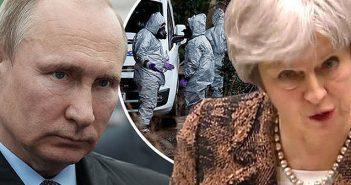 Putin and Theresa May