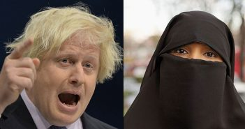 Boris Johnson and niqab
