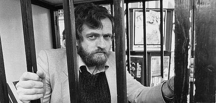 Jeremy Corbyn behind bars