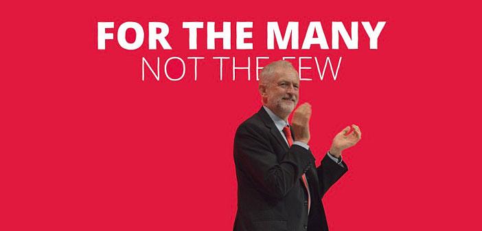 Jeremy Corbyn for the many