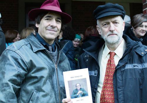 Mark Steel & Jeremy Corbyn