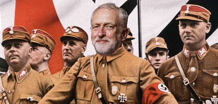 Jeremy Corbyn is a Nazi