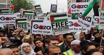 Free Palestine demonstration