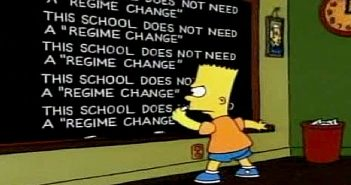 Simpsons Regime Change