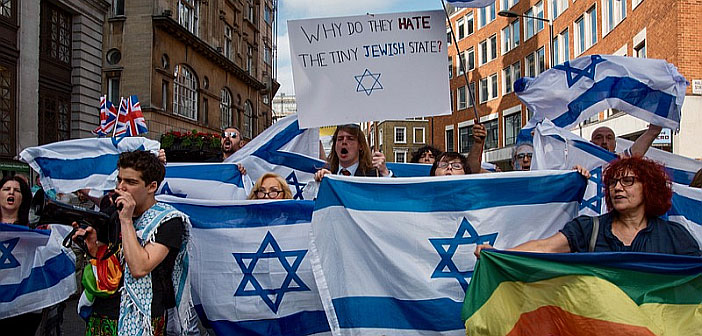 Pro-Israel demonstration