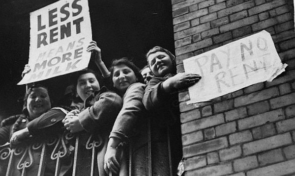1930s rent strike