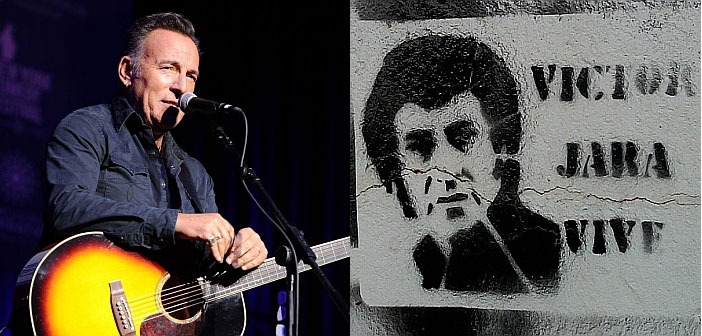 Bruce Springsteen and Victor Jara