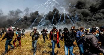 Israel tear gas attack