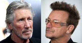 Roger Waters and Bono
