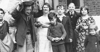 Family evicted 1937