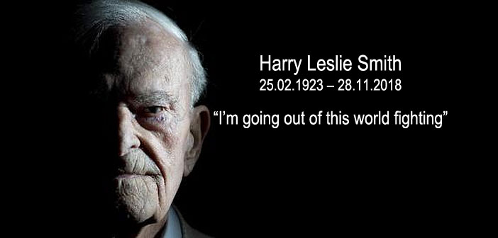 Harry Leslie Smith going out fighting
