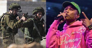 Gala supporting Israeli army