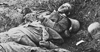 WW1 dead bodies