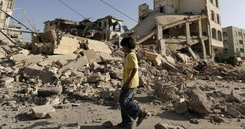 Yemen devastation