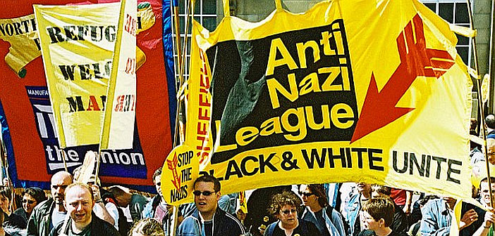 Anti Nazi League demonstration