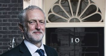 Jeremy Corbyn outside 10 Downing Street
