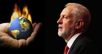 Jeremy Corbyn gloabal warming