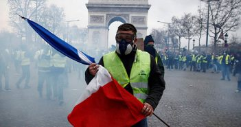 France yellow vests revolt
