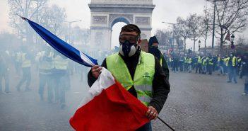 France yellow vests revolt