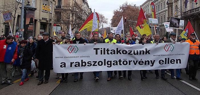 Hungary demonstration