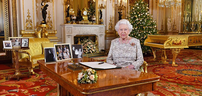 Queen Christmas message