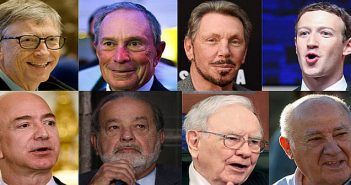 8 richest men in the world