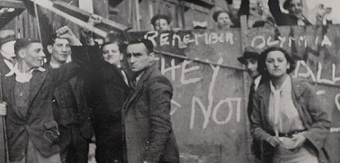 Cable Street - They shall not pass