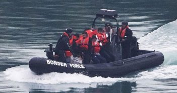 English Channel Border Force