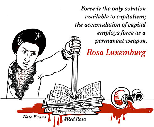 Rosa Luxemburg and capitalism