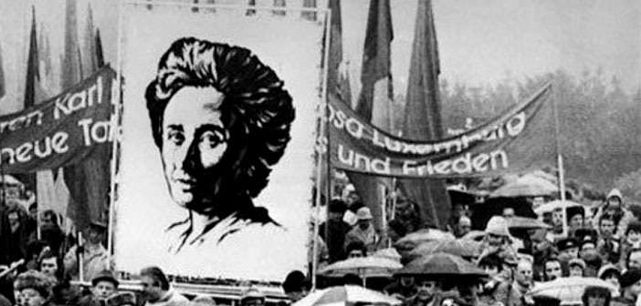 Rosa Luxemburg funeral