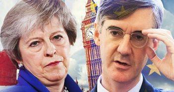 Theresa May & Jacob Rees-Mogg