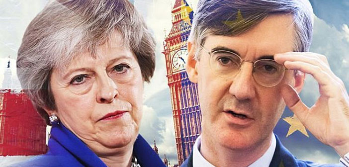 Theresa May & Jacob Rees-Mogg