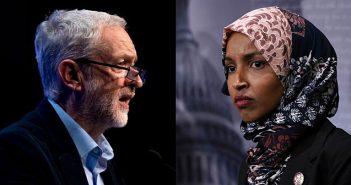 Jeremy Corbyn in UK and Ilhan Omar in US
