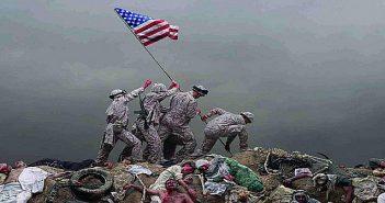 US flag raised on Gaza bodies