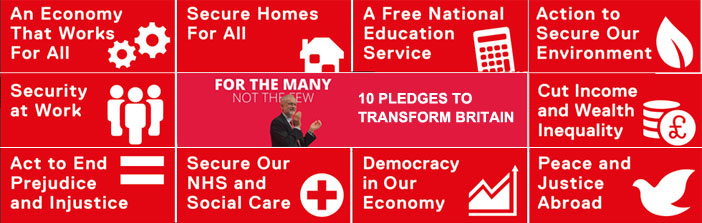 10 pledges for the many
