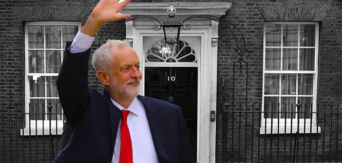 Jeremy Corbyn Downing Street
