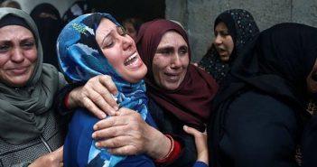 Gaza mourners
