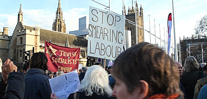 Anti-semitism: stop smearing Labour