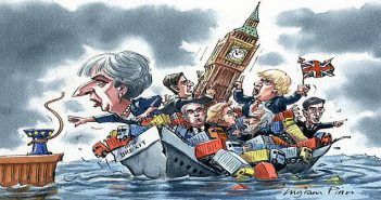 Brexit sinking ship