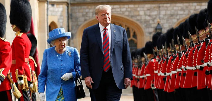 Donald Trump UK state visit