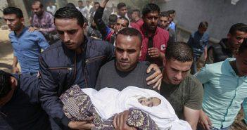 Gaza baby killed by Israel