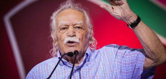 Manolis Glezos: anti-fascist and socialist